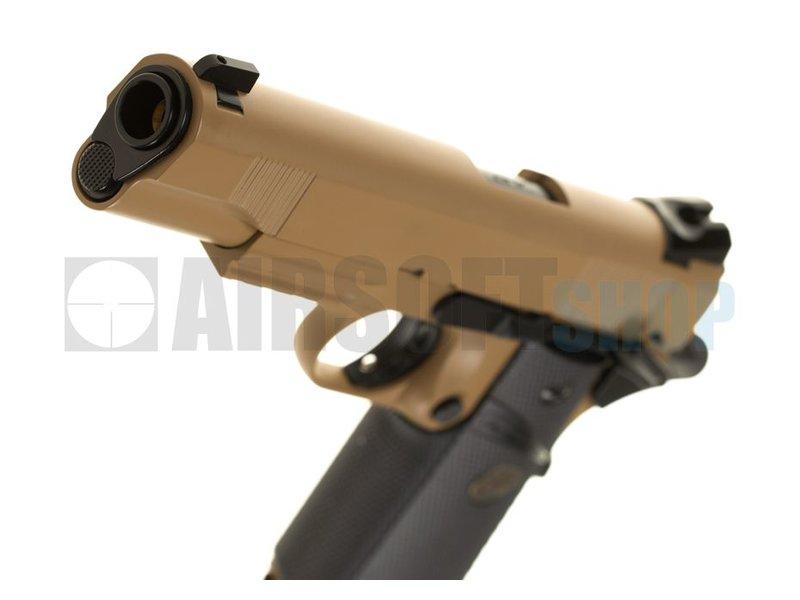 KJ Works M1911 MEU Full Metal GBB (Tan)