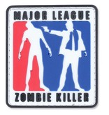4TAC Major League Zombie Killer PVC Patch