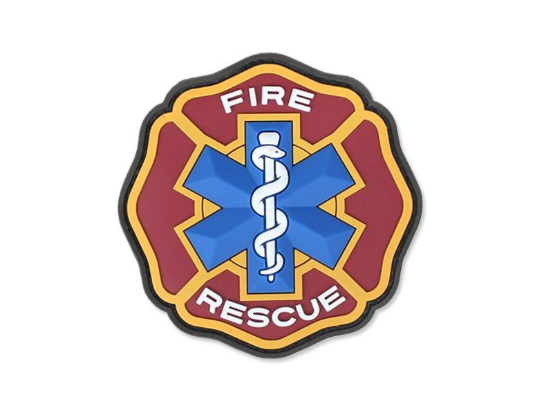 MIL-SPEC MONKEY Fire Rescue PVC Patch (Fire)