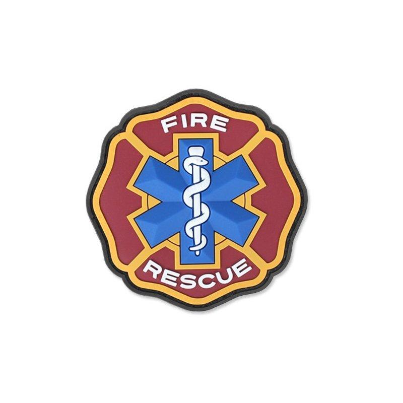 MIL-SPEC MONKEY Fire Rescue PVC Patch (Fire)
