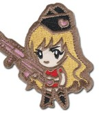 MIL-SPEC MONKEY Gun Girl1 Patch (Subdued)