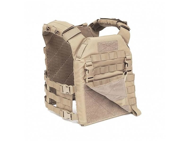 Warrior Recon MOLLE Front Panel (Coyote Tan)