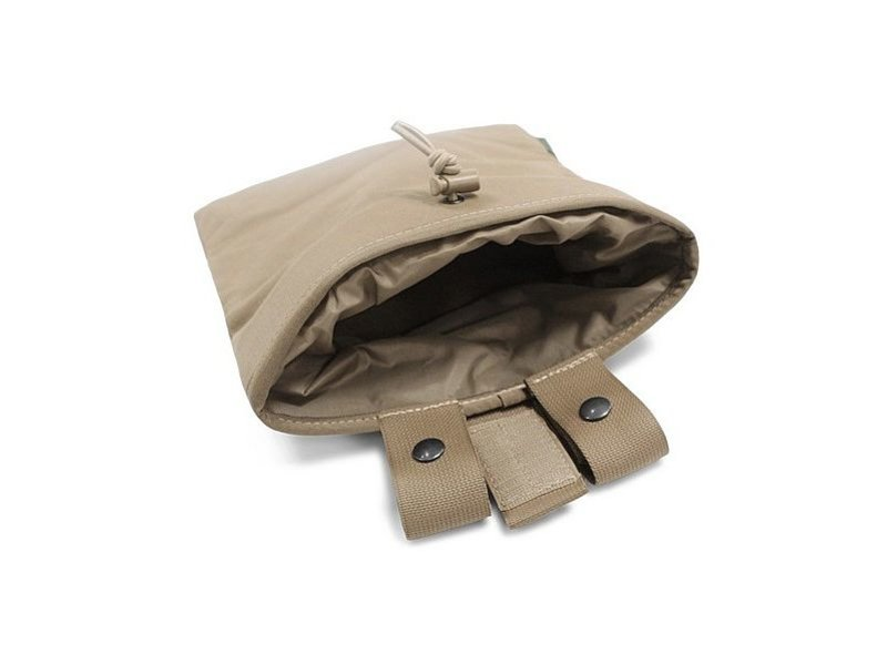 Warrior Large Roll Up Dump Pouch (Coyote Tan)