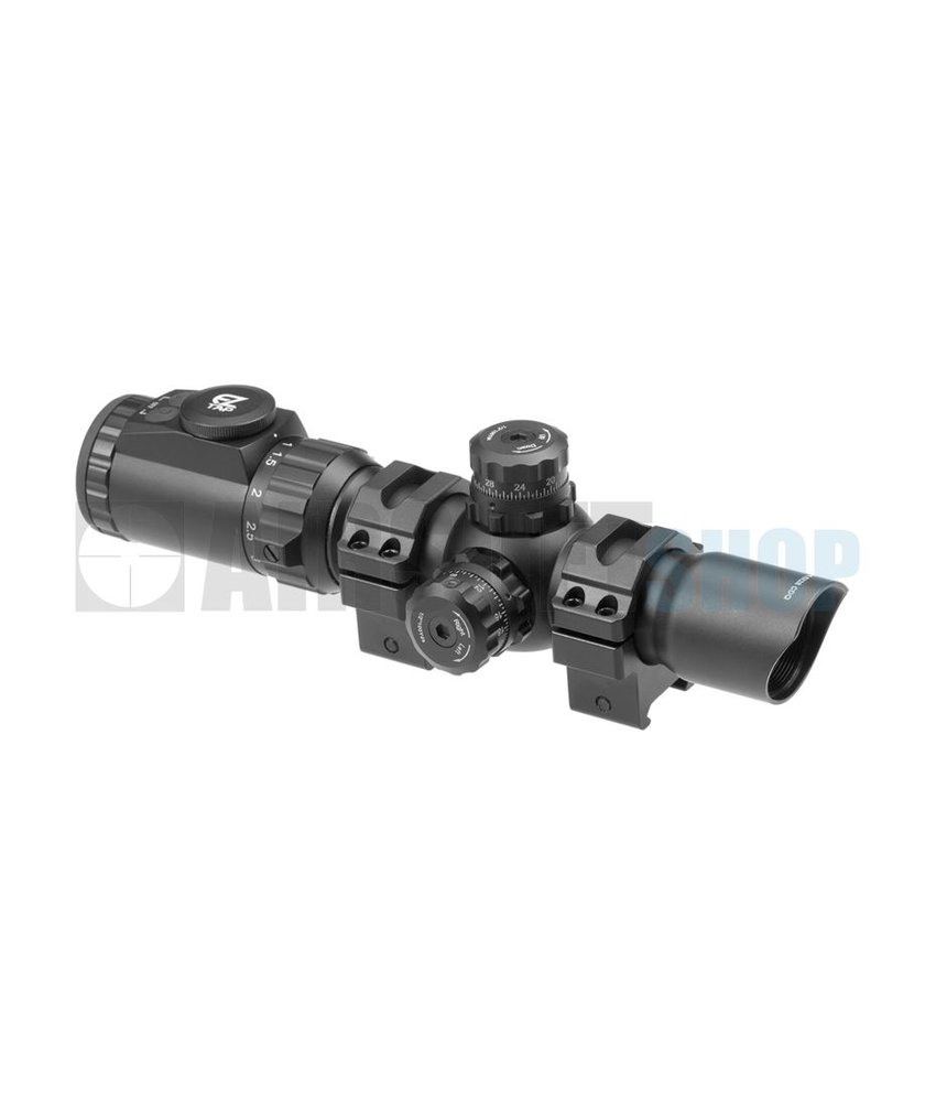 Leapers 1-4.5x28 30mm IECDQ Accushot Tactical TS Scope