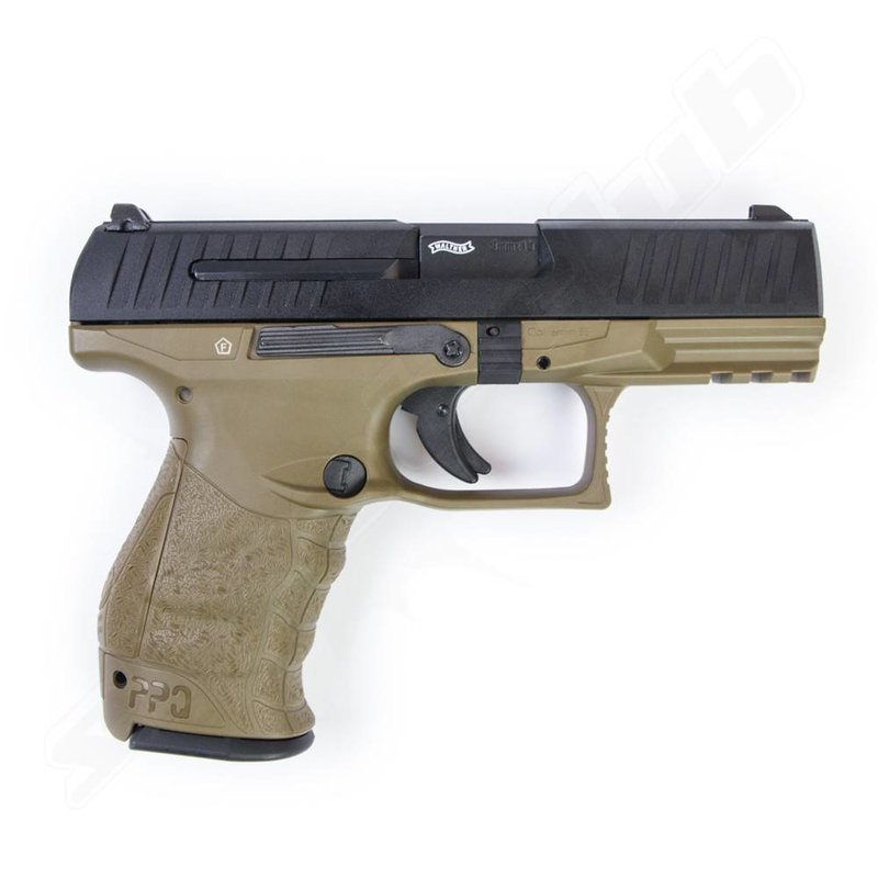 Walther PPQ M2 Metal Version GBB (by VFC) (RAL8000)