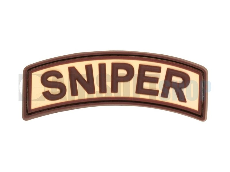 JTG Sniper Tab PVC Patch (Desert)