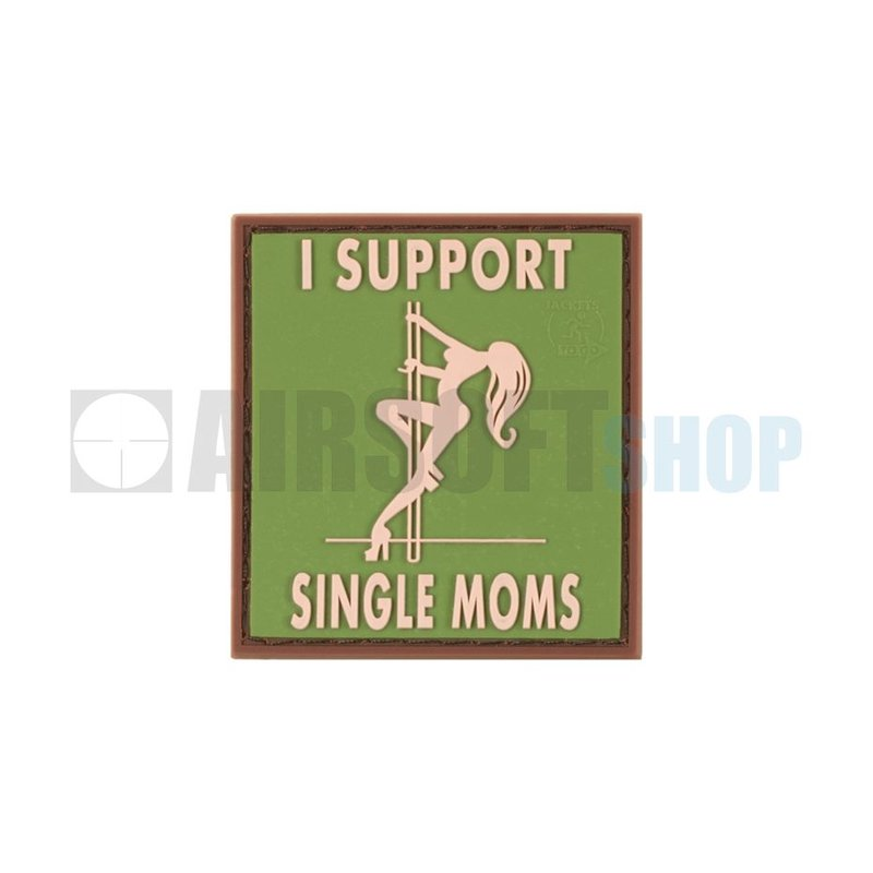 JTG I Support Single Moms PVC Patch (Multicam)