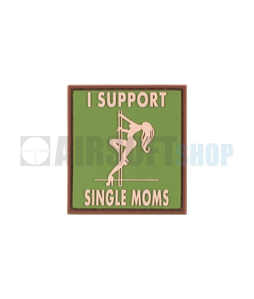 JTG I Support Single Moms PVC Patch (Multicam)