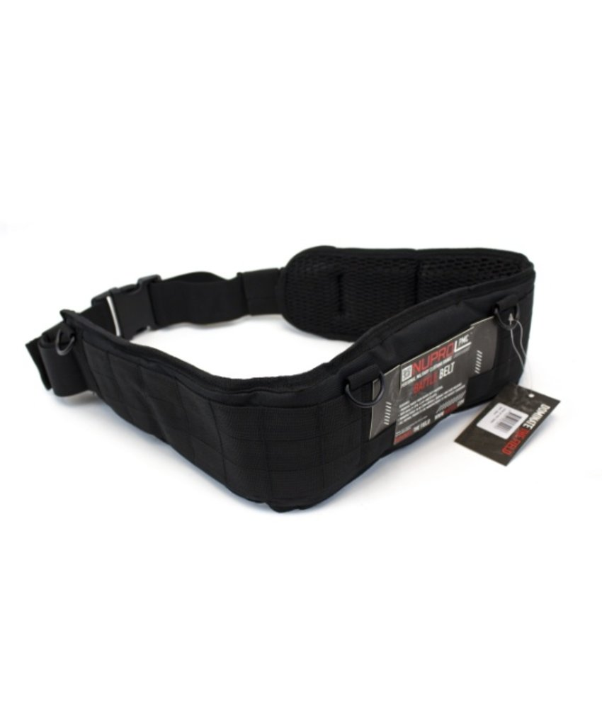 NUPROL PMC Battle Belt (Black)