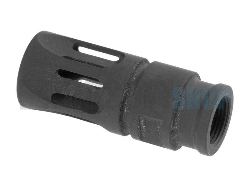 Battle Axe VLT Steel Flashhider 14mm CCW