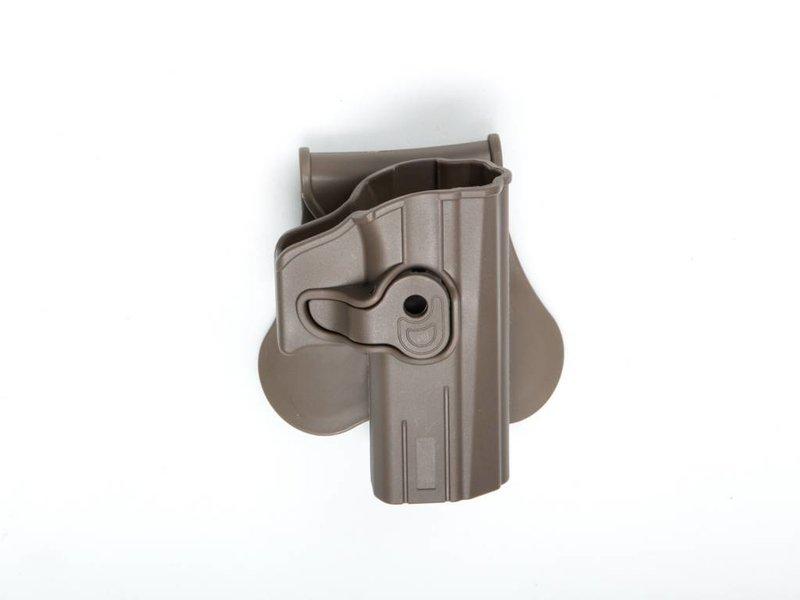 ASG Polymer Holster CZ P-07 + P-09 (FDE)