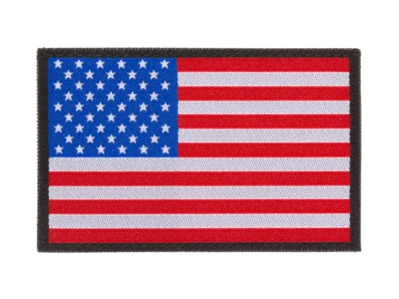 Claw Gear USA Flag Patch