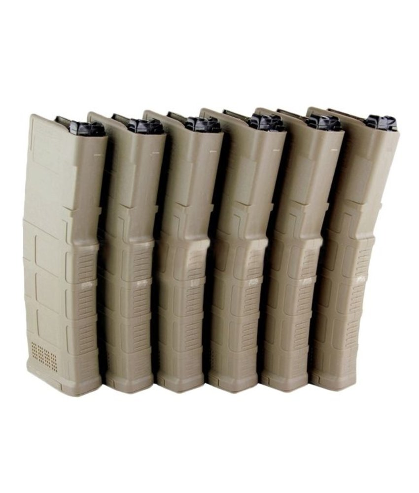 FCC PTW 120rds Gen3 PMAG Set (Dark Earth) (6 Pack)