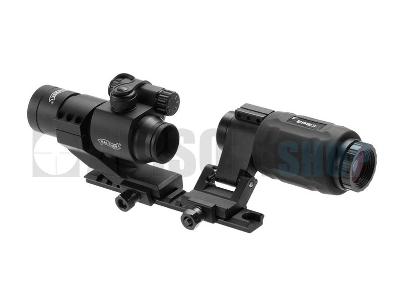 Walther EPS3 Red Dot + Magnifier Set