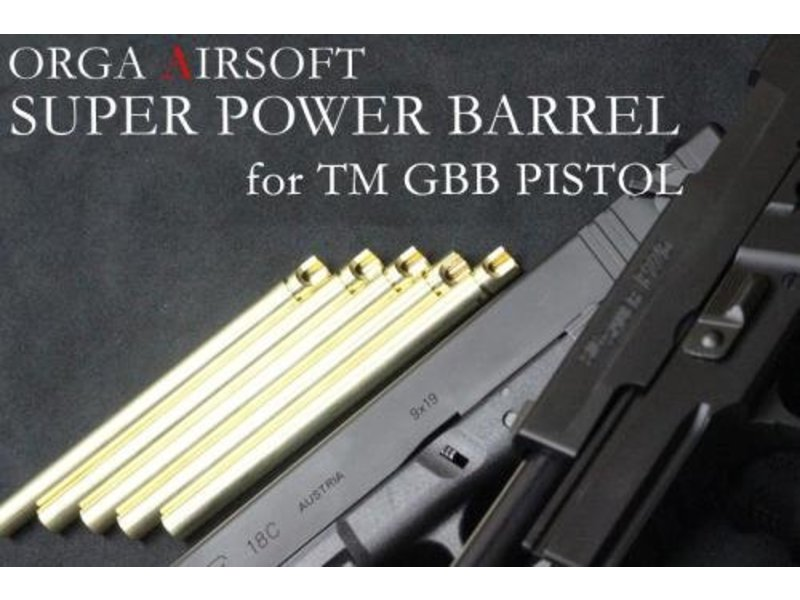 Orga Super Power 6.00mm Pistol Barrel (Hi-Capa 4.3)