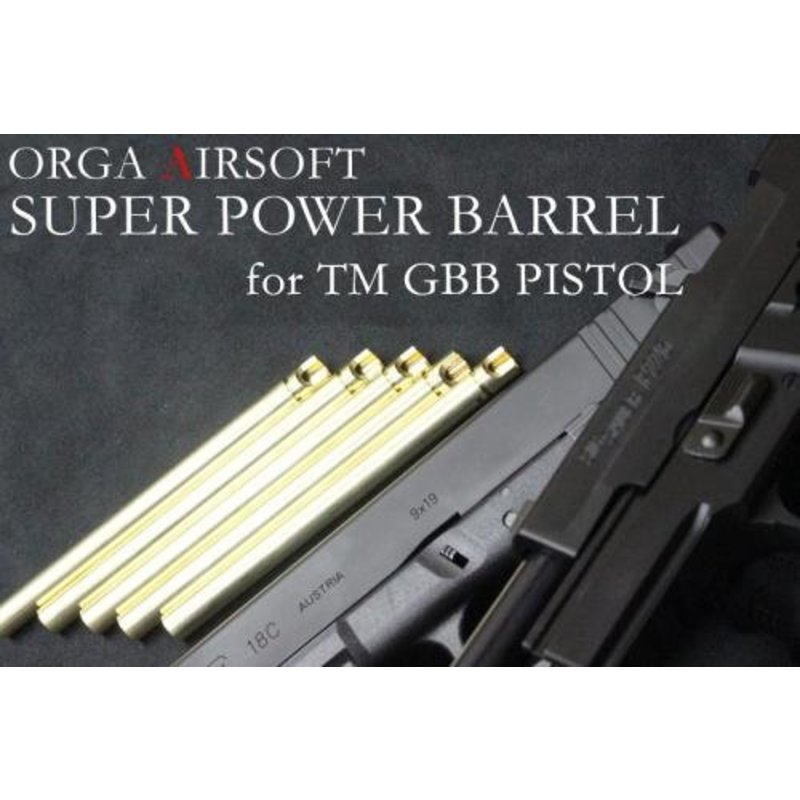 Orga Super Power 6.00mm Pistol Barrel (Hi-Capa 5.1 / 1911)