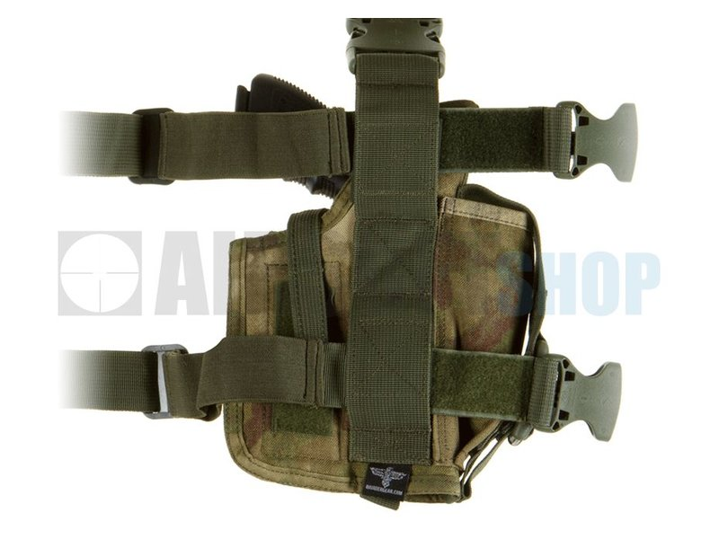 Invader Gear SOF Pistol Holster LEFT (Everglade)