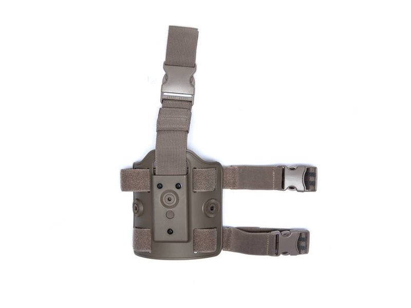 ASG Polymer Holster Leg Platform (Dark Earth)
