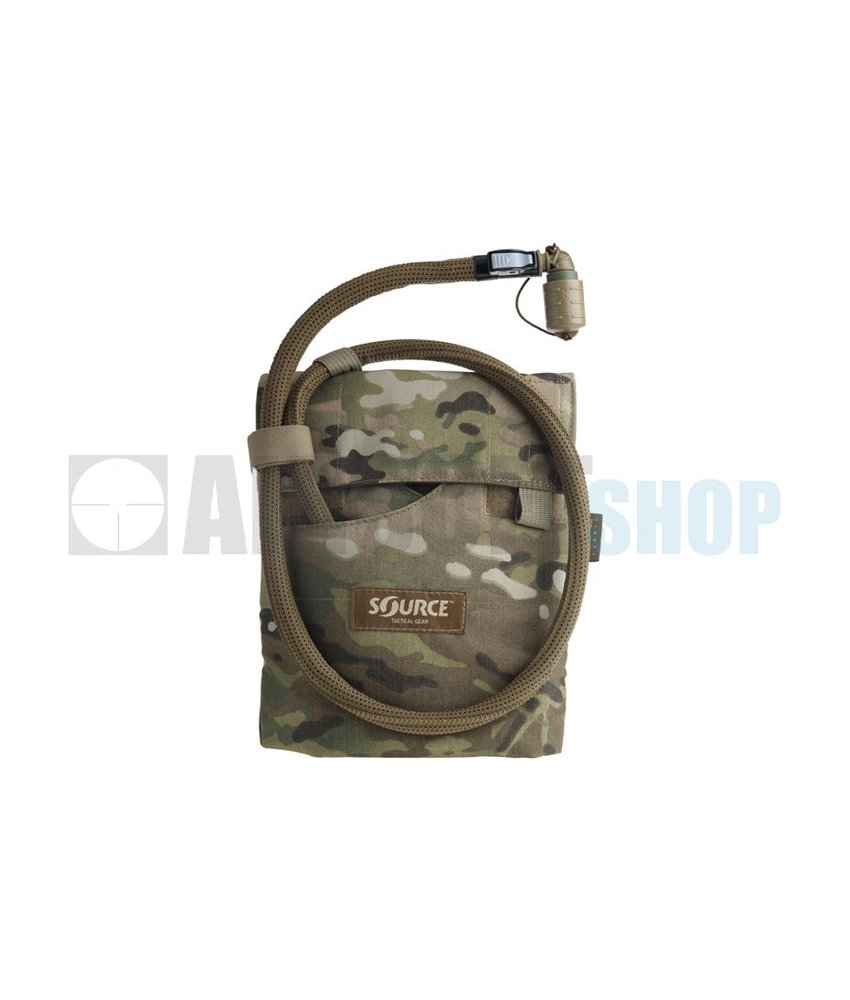 Source Kangaroo 1L Collapsible Canteen + Pouch (Multicam)