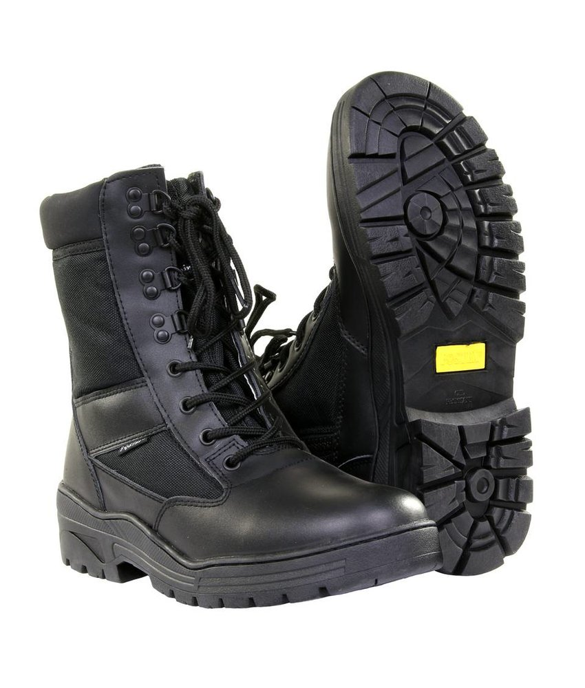 Fostex Sniper Boots SideZip (Black)