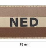 Claw Gear Nederlandse Vlag Patch (Desert)