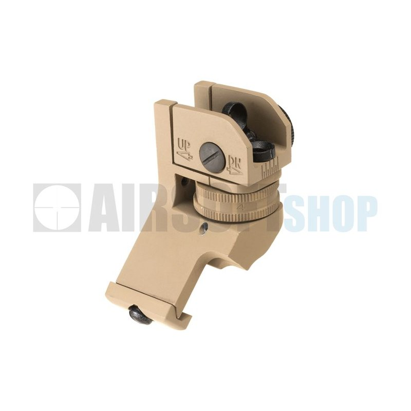 Metal Offset Rear Sight (Dark Earth)
