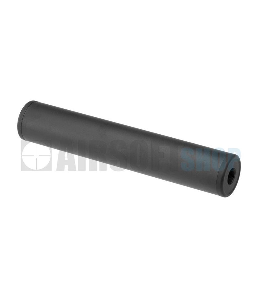Metal 190x35mm Smooth Style Silencer (CCW)