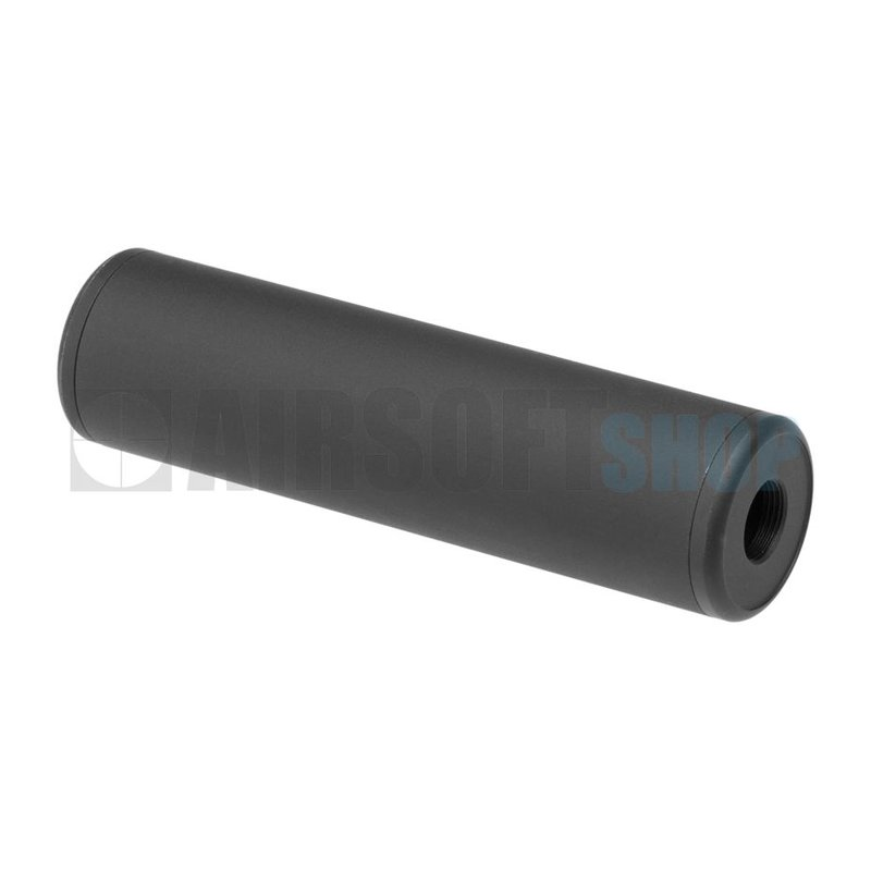 Metal 130x35mm Smooth Style Silencer (CCW)