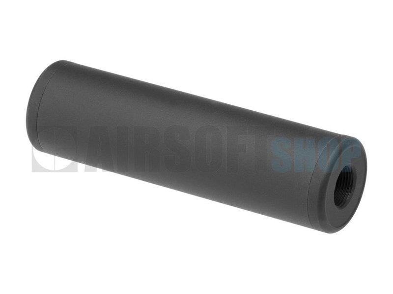 Metal 110x35mm Smooth Style Silencer (CCW)