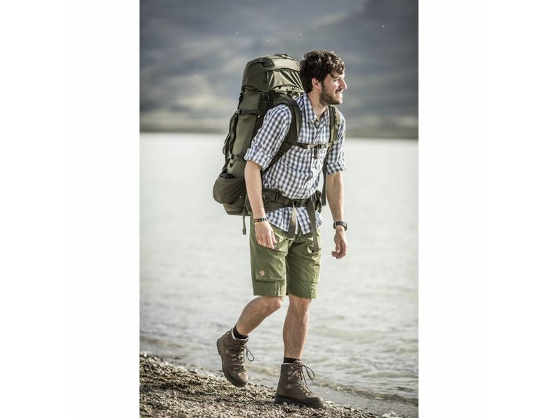 Fjällräven Abisko 65 Backpack (Stone Grey)