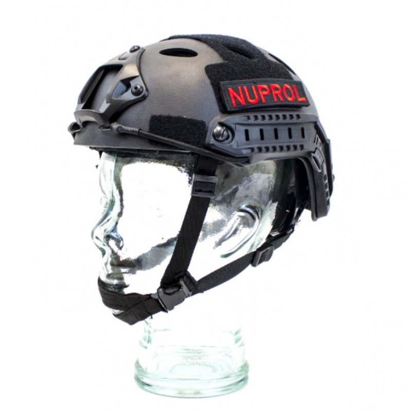 NUPROL FAST Railed Helmet (Black)