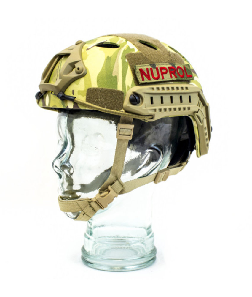 NUPROL FAST Railed Helmet (Multicam)