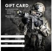 Airsoftshop DIGITAL Gift Card (Mail PDF)