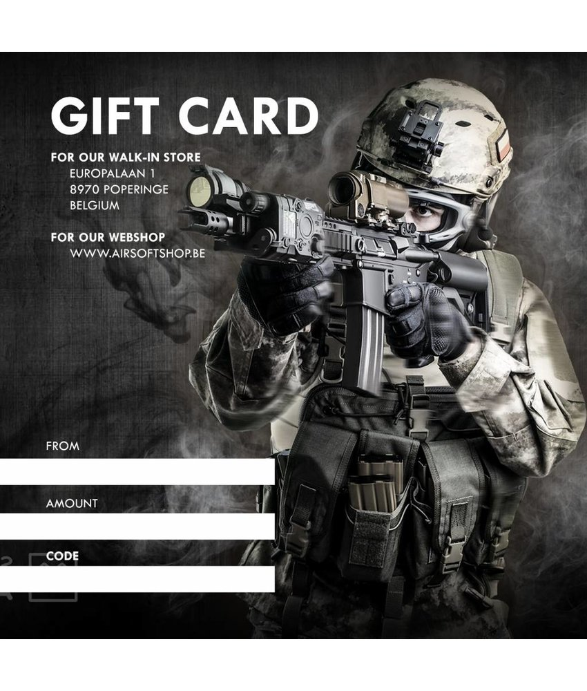 Airsoftshop DIGITAL Gift Card (Mail PDF)