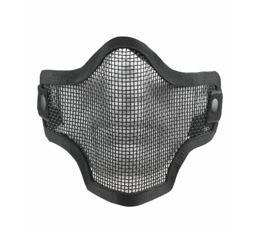 2G Wire Mesh Tactical Mask (Black)