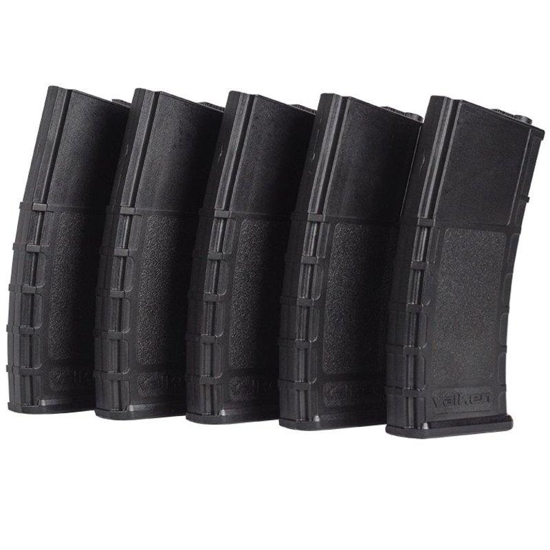 Valken RMAG Midcap 140rds 5-PACK (Black)