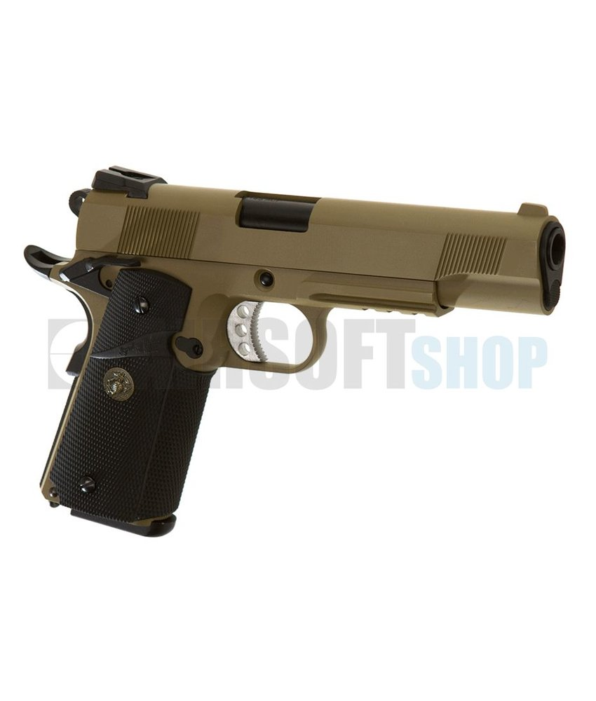 WE M1911 MEU Tactical GBB (Desert)