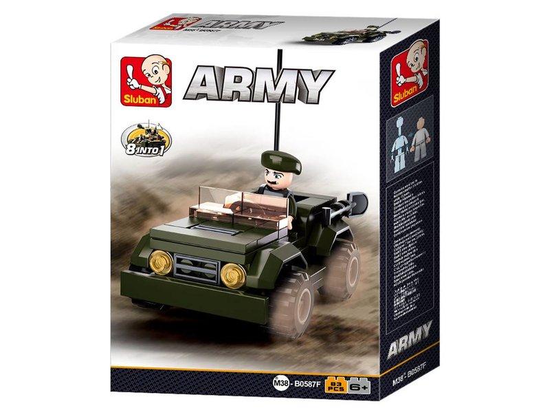 Sluban Jeep M38-B0587F