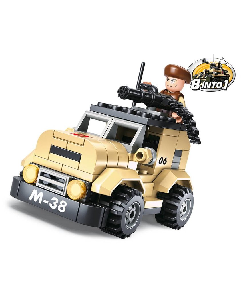 Sluban Patrol Car M38-B0587A