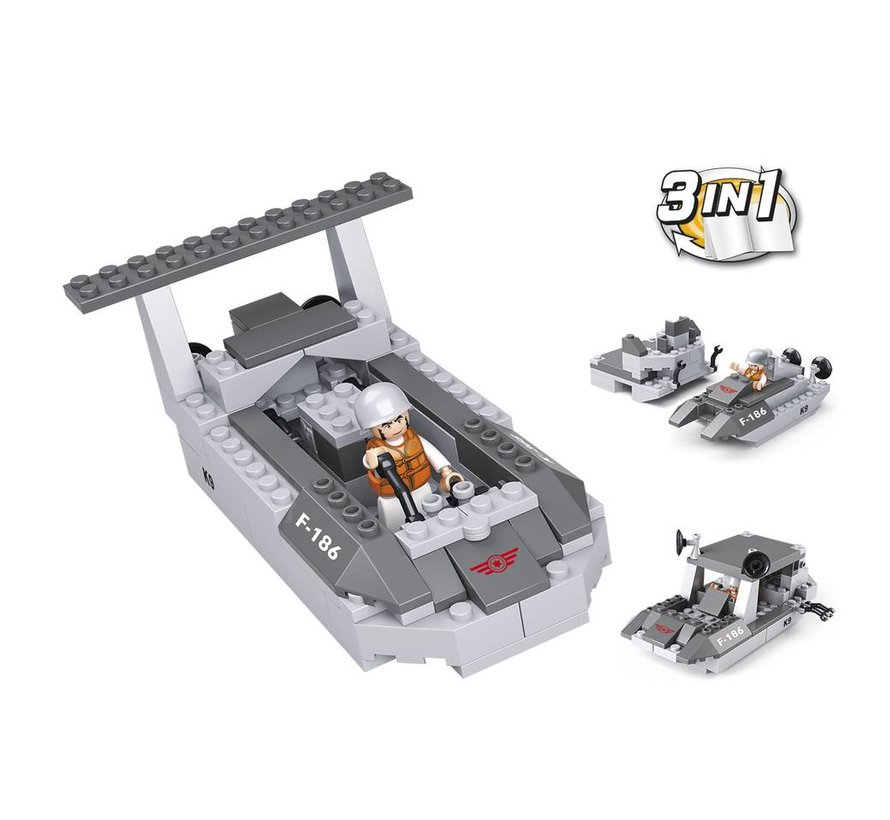 Landing Craft 3-in-1 M38-B0537D