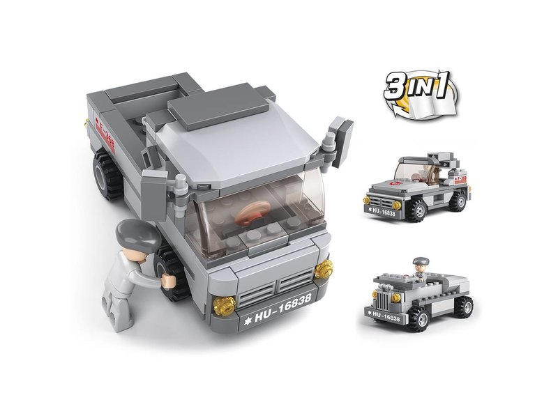 Sluban Troop Transporter 3-in-1 M38-B0537E