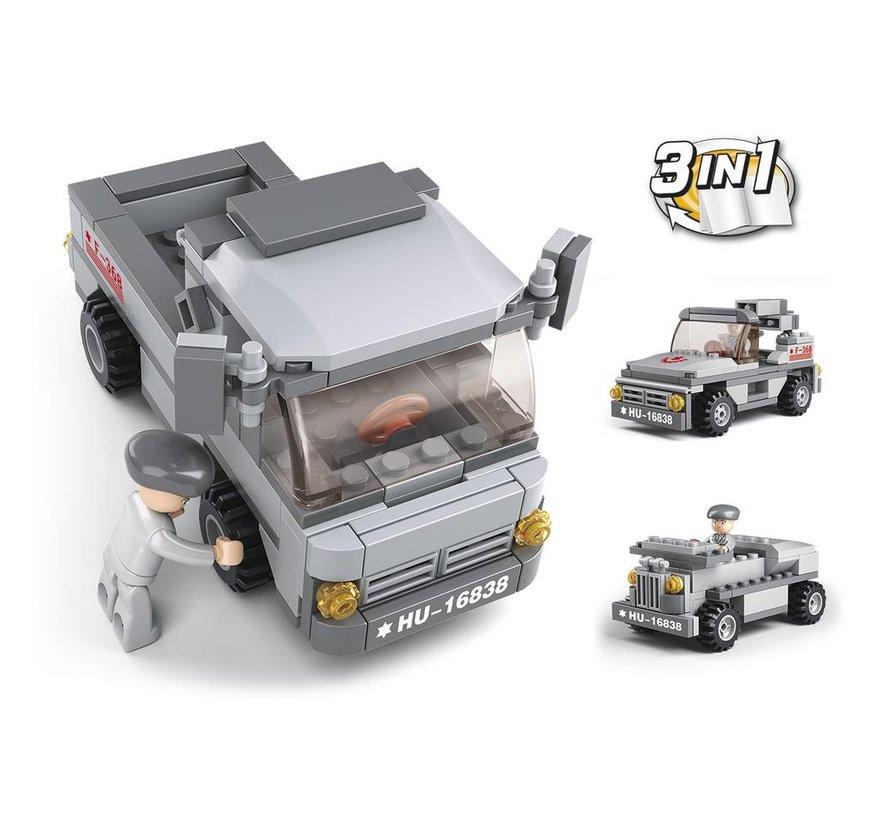 Troop Transporter 3-in-1 M38-B0537E
