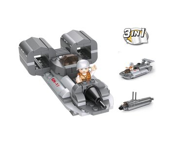 Sluban Jet Boat 3-in-1 M38-B0537F