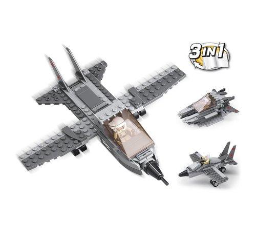 Sluban Fighter Jet 3-in-1 M38-B0537I