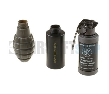 Thunder-B Sound Grenade Set Pineapple Shell
