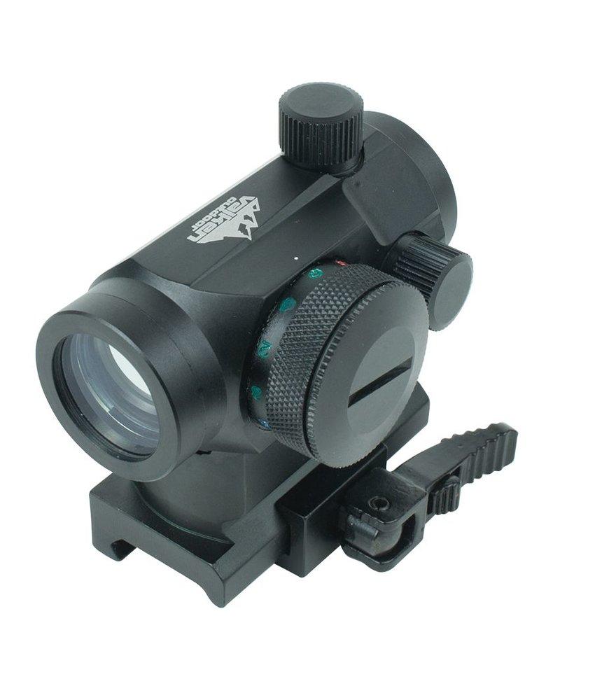 Valken Red Dot 1x22 R/G/B Dual w/Weaver QR