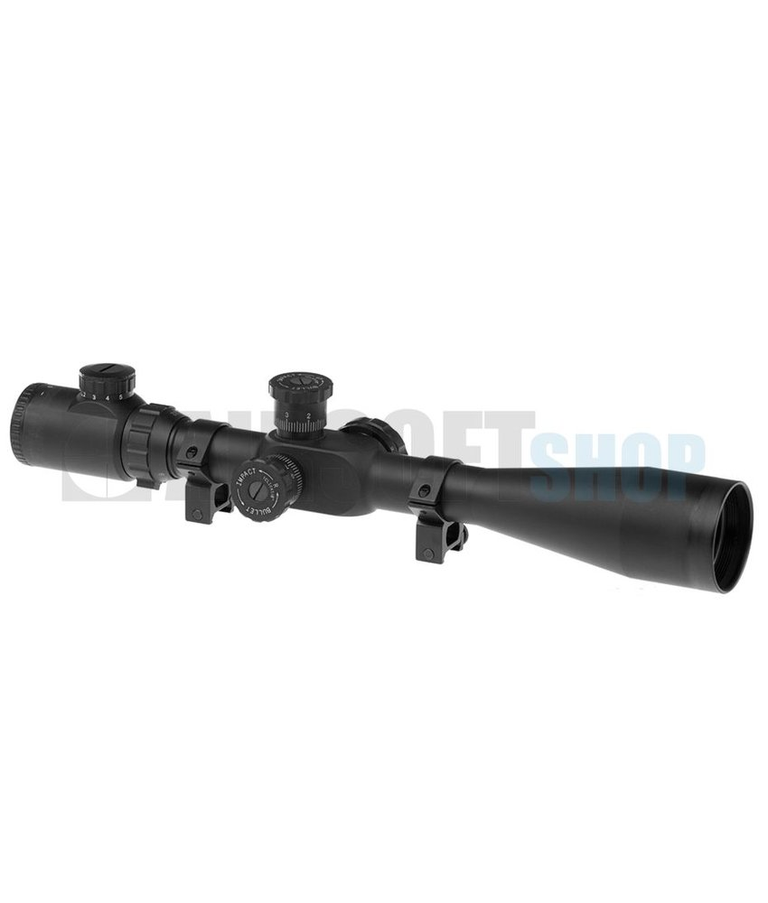 Element 8-32x50E-SF Sniper Rifle Scope (Black)