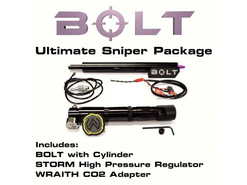 Wolverine BOLT HPA Ultimate Sniper Package