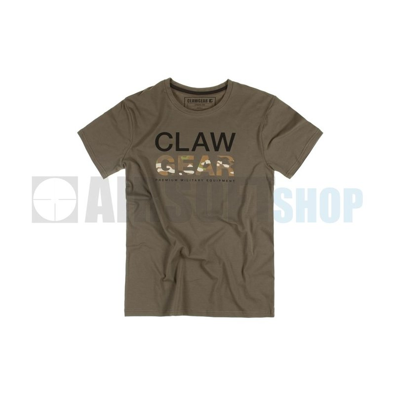 Claw Gear MC Tee T-Shirt (RAL7013)