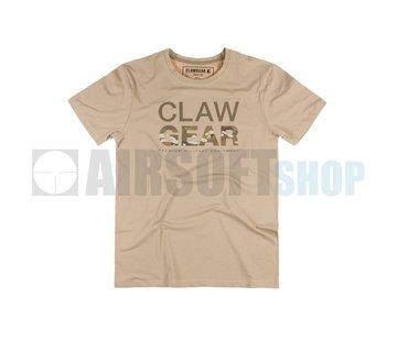 Claw Gear MC Tee T-Shirt (Khaki)